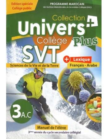 Univers plus  SVT 3AC