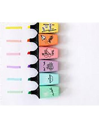 Stabilo fluo boss mini pastel