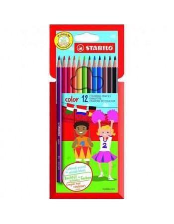 Pochette de 12 crayons de...